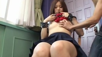 Hot Yamasaki Honoka shows off her hairy cunt