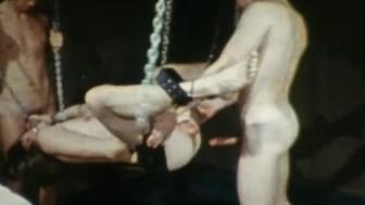 Derrick Stanton Sex Sling Threeway - 8mm Loop - GAMES BOYS PLAY