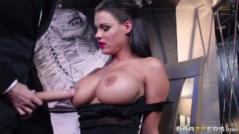 brazzers – huge penis drained by babe peta jensen