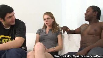 Cock Sucking Wife Sucks Another Man