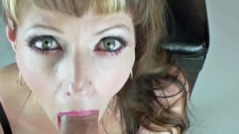 Canadian Milf Shanda Gives Blowjob To Recent Graduates!