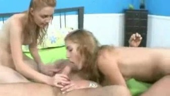 hot blondes threesome