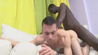 Hot Latino Do Bareback Sex With Black Guy
