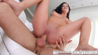 All Internal Pussy drilling ends in huge pussy creampie