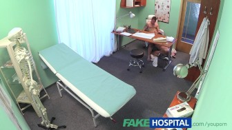 FakeHospital Young doctor fucks his sexy new nurse