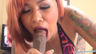 Cum Li tests her might in Oral Komat