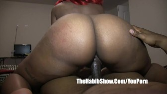 amateur phatt juicy thick red phat booty jiggle fucked