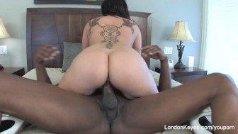 London Keyes interracial Anal