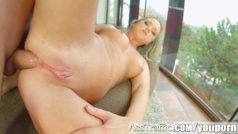Ass Traffic Czech firstimer debuts with anal