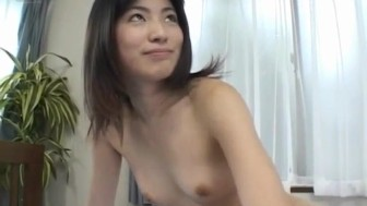 Rina Usui has hairy pussy well pumped and gets cum in mouth
