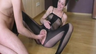 Extreme amateur fisted till she squirts in orgasm