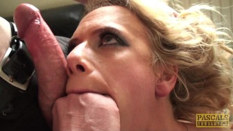 Sasha Steele throat fucked and dominated by Pascal