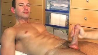 Gym trainer's huge cock !