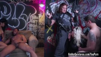 Gabby Quinteros Gets Gangbanged!