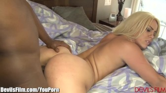 Brooke Summers Begs Black Step-Dad to Fuck Her