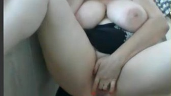 I found her on W1LD4U.COM - Big tits playing outside
