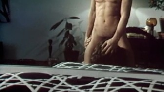 Marc Stevens and a Double-Sided Dildo in MICHAEL, ANGELO AND DAVID (1976)