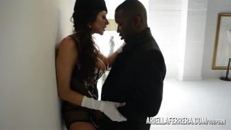 Ariella Ferrera Fucks Huge Black Cock