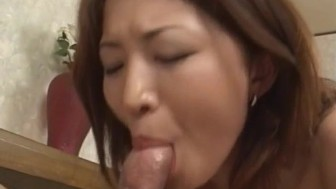Yuki Touma with big boobs has crack fucked after licking dicks