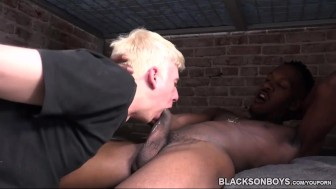 Osiris Gets Fucked By His Black Cellmate