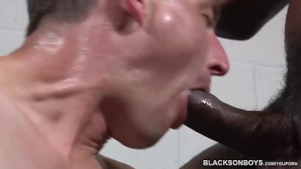 Corey James Takes A Black Cock
