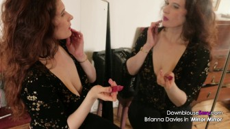 Brianna Davies - Video Lookbook 1 - Sexy brunette big natural tits