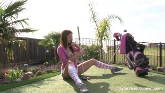 Taylor Vixen The Golfer