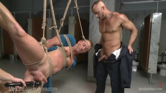 Horny Plumbers Fuck Army Stud