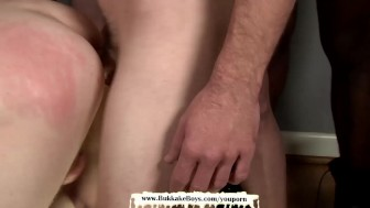 Navy Boy loves bareback fucking and facial cumshots