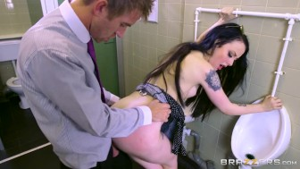 By bosses daughter, Alessa Savage - Brazzers