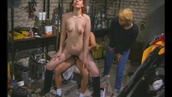 Cock Sucking In The Warehouse - Julia Reaves