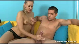 Milf Feels Horny To See Young Guy's Handsome Body