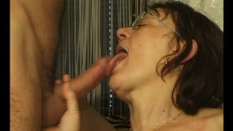 Mature granny getting dildo'd - Julia Reaves