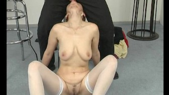 Thin MILF loves her dildo - Julia Reaves