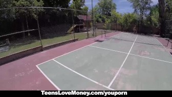 TeensLoveMoney - Tennis Slut Fucks For Cash