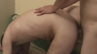 My Horny Gay Roommate Loves Fucking Bareback his Tight Ass