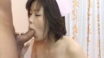 Kasumi Uehara nurse sucks and fucks boner