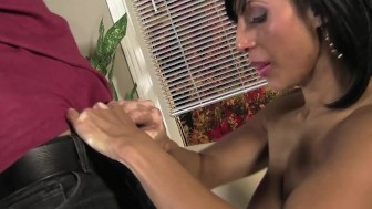 Faustine Lee Gets Licked and Ass Rimmed By Stranger