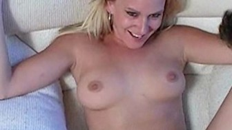 Blonde starlet Erin More sucks fucks cock like a pro