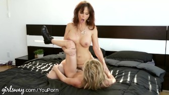 Girlsway Sasha Heart Hate Fucks Her Step-Mommy