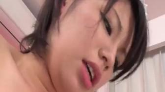 Mei Ashikawa sure knows her way in dealing cock
