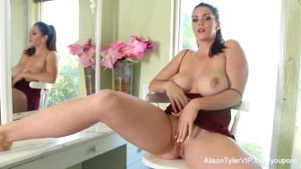 Alison Tyler Fingers Herself
