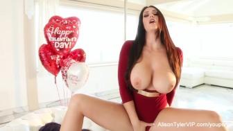Alison Tyler Valentine's Masturbation