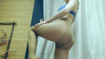 Pantyhose cam show with AnellaS