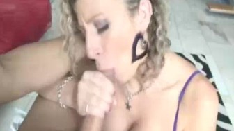 Big Titted Babe Loves When Big Cocks Spurt On Juggs