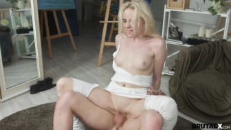 BrutalX - Blondie fucked mad