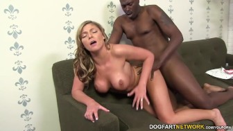 Brianna Brooks takes massive black cock