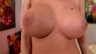 Huge tits, and a huge dildo - DDF Productions