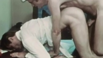 Rough, Funny Classic Office Sex from AMERICAN CREAM (1972)