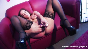 Natasha Nice Double Self Penetration